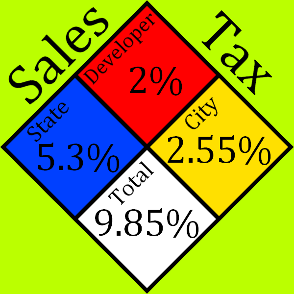 Tax Sign