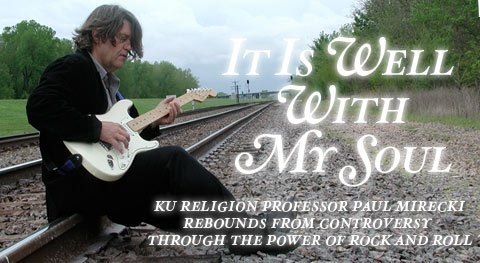 KU religion professor, Paul Mirecki.