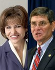 Jim Ryun and State Treasurer Lynn Jenkins are battling for the GOP nomination in the 2nd Congressional District.