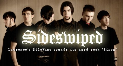 SideWise is (from left) Matt Wilkinson, Jason Foster, Marcus Wilkinson, Nico, Jeff Davidson, and Scott Anderson.