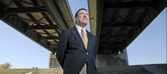 Kansas Turnpike Authority President Michael Johnston will chat online about the Kansas Turnpike project that will see new bridges built over the Kansas River and upgrades made to the Lawrence toll booths.