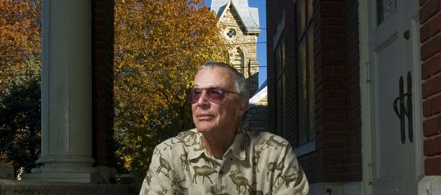 Joe Reitz, a retired Kansas University business professor and consultant with the Leo Center, is attempting to gain interest from local churches for a new program called Interfaith Hospitality Network.