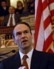 Lawrence native Stephen Six was sworn in as the Attorney General on Thursday, January 31, 2008.