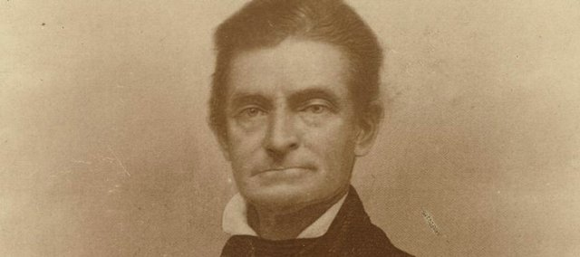 John Brown, pictured here in a 1859 engraving, is the subject of a new book by Jonathan Earle, a Kansas University associate professor of history. The book features writings by Brown involving his raid at Harpers Ferry.