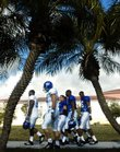 The Kansas University football team makes its way to the practice fields at Barry University in preparation for the 2008 Orange Bowl against Virginia Tech in this file photo. The total cost for KU to go to Miami was about $2 million, according to figures released this week by KU as a result of a Lawrence Journal-World/6News Freedom of Information request.