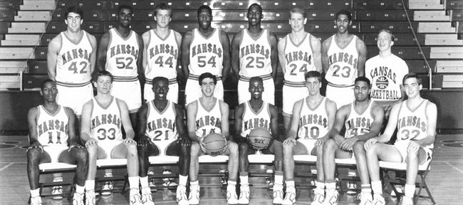 The 1988 NCAA national-champion Jayhawks