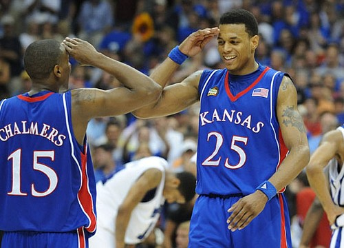 Former Jayhawk Brandon Rush excited, nervous for jersey retirement at Allen Fieldhouse