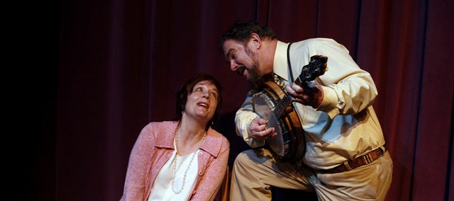 "Jeanne Averill, left, and Ric Averill co-founded Seem-to-Be-Players, a local children's drama group, and will be calling it quits Saturday with a final performance at 2 p.m. at the Lawrence Arts Center, 940 N.H. Food and drink will be provided at the center at 12:30 p.m. The group will also be celebrating its 35th anniversary with a performance of ""Puss in Boots,"" which was its opening performance."