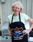 "Catherine Mayhew, who lives in Tennessee, is author of ""Handy Mom's Guide to Grilling."""