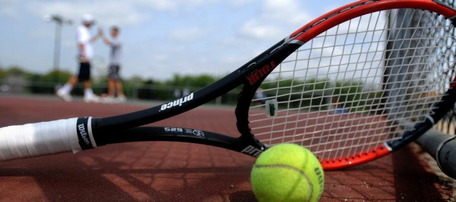 "Lawrence Tennis Center will be the site of Saturday's ""Block Party,"" an all-ages event put on by the city and First Serve Tennis to try to attract new players to the sport."