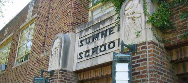 Sumner School in Topeka, at the heart of Brown v. Board of Education, the landmark 1954 desegregation case, is on the National Trust for Historic Preservation's list of most endangered places.