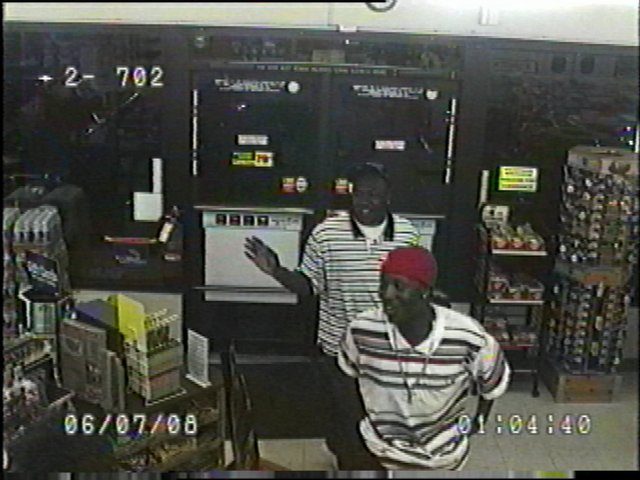 Lawrence police are seeking the public's assistance in identifying the men in this photo. The men are persons of interest associated with the discharge of weapons at 1:08 a.m. June 7 in the 1800 block of New Hampshire.