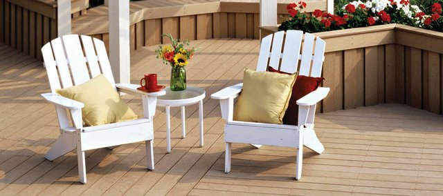 The best composite decking, such as Veranda, kept its color in Consumer Reports' tests without the restaining real wood typically requires.