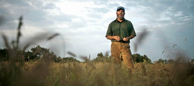 Lee Quaintance, who operates an organic farm in Edgerton, grows, stores, mills and markets his wheat, and he is one of few farmers in the state who has an organic flour mill.