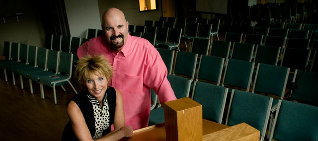 Ron and Vicki Channell are happy to have a new location for Family Church of Lawrence, 5150 Clinton Parkway. The church began meeting more than two years ago.