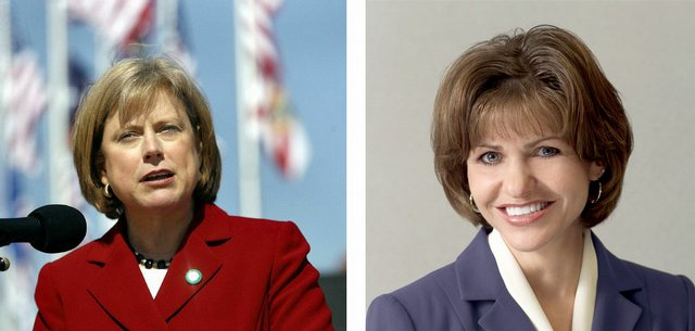 U.S. Rep. Nancy Boyda and State Treasurer Lynn Jenkins, who are competing against each other in the 2nd Congressional District race, are both working to depict themselves as having independent judgment.