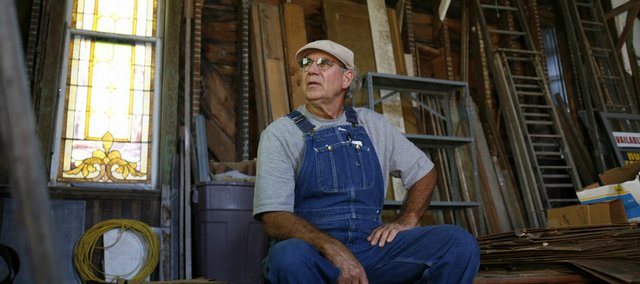 Ray Wilbur, who lives near Vinland, is one of 17 private citizens who bought into the Vinland Presbyterian Church in order to save the structure. The church is now on the National Register of Historic Places.