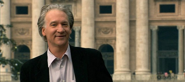 "Bill Maher goes to the Vatican during one of his quests in ""Religulous."""