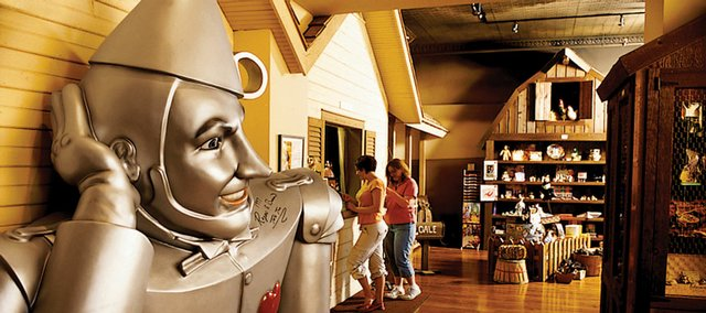 The OZ Museum in Wamego is among the locales your family can visit on one tank of gasoline.