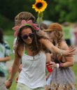 Kimmy LeFevre, of Boulder, Colo., dances to the music of Head for the Hills on June 5 at the Wakarusa Music and Camping Festival at Clinton Lake. The popular festival may move from the lake to the Circle S Ranch in Jefferson County.