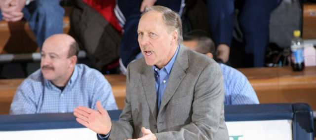Washburn coach Bob Chipman will open his 30th season tonight when the Ichabods face Kansas University in an exhibition at Allen Fieldhouse.