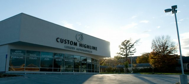 The former site of Custom Highline at 1527 W. Sixth St. is expected to be listed for sale by Central National Bank by the end of the year. The bank and two other creditors have settled their differences with the building's owners and one of the business's owners.