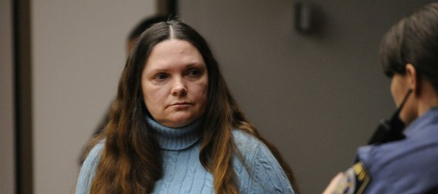 Ramona Morgan was sentenced Wednesday to serve 26 years in prison for striking and killing two highway workers south of Lawrence in September 2007.  Douglas County District Judge Paula Martin handed down the sentence Wednesday afternoon.