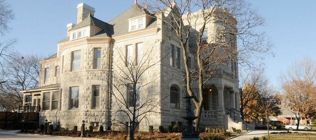 The Castle Tea Room, a Lawrence landmark, 1300 Mass., has undergone a major transformation.