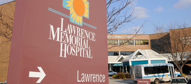 Lawrence Memorial Hospital, 325 Maine.