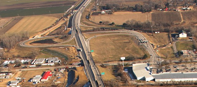 Construction plans are in the future for portions of the Kansas Turnpike. Plans are in place to widen sections of the turnpike from North Lawrence to Kansas highway 7 to six lanes.