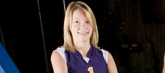 Kylie Shufflebarger was an all-area selection in 2008.