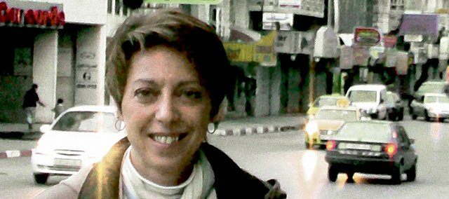 Julia Pitner, a 1981 Lawrence High School graduate and 1991 Kansas University graduate, is head of projects for the nonprofit Internews Network in the West Bank. She is helping coordinate an effort to get solar-powered radios that can be hand-cranked to help Palestinians in Gaza get news and humanitarian information during the current conflict with Israel.