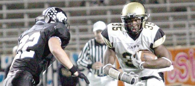 Running back Toben Opurum will join the Jayhawk football team next season.