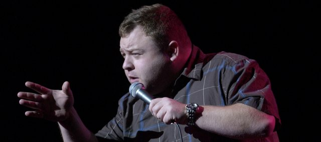 Comic impressionist Frank Caliendo performs his stand-up routine.