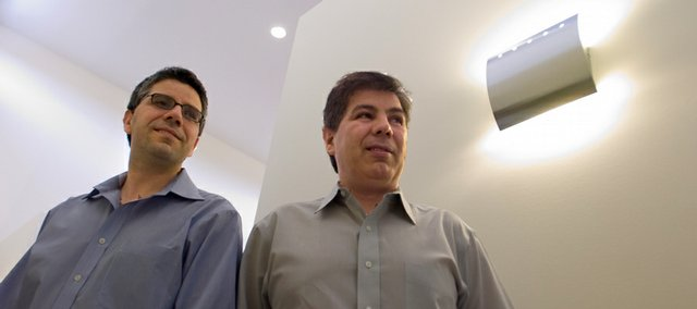 Farhang Khosh and his brother Mehdi Khosh both fled Iran several years ago to escape persecution because they are followers of the Bahai religion.