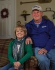 Joy and Marty Pattin, of Lawrence, will be senior queen and king in the St. Patrick's Day Parade. Joy is the daughter of John Weatherwax, a jazz band musician whom the parade will be honoring.