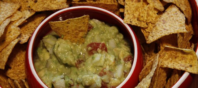 Pair tortilla chips with a delicious, made-from-scratch guacamole dip, which is cheaper (and often healthier) than the premade dips sold in stores.