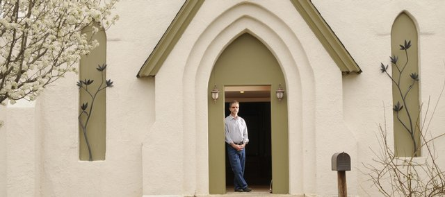 Tom Harper has restored the 137-year-old former church at 10th and N.Y. Harper a realtor with Stephens Real Estate now is renting the property after the renovations. He'll hold an open house from 2 p.m. to 4 p.m. Sunday.