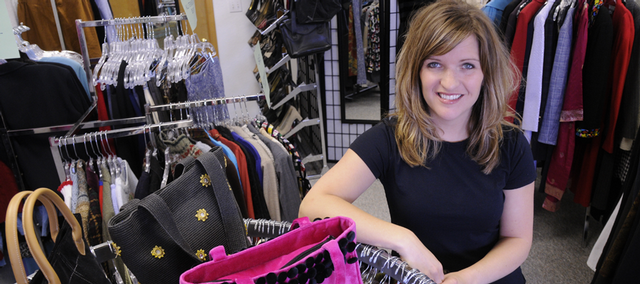Nikki Price, a teacher at Prairie Park School, has recently opened Closet 2 Closet, a secondhand clothing store in Eudora. 