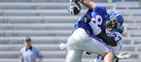 <strong>FINAL:</strong> Johnathan Wilson posts 133 receiving yards; Blue team takes 20-7 victory in KU Spring Game