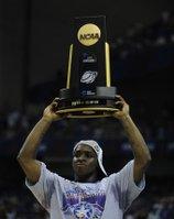 KU lends 2008 basketball championship trophy to speaker of Kansas House