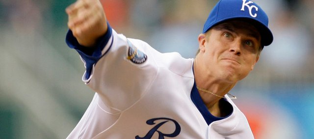 Zack Greinke has revitalized the Royals this season.