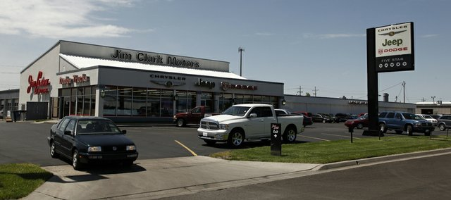 Lawrence's Jim Clark Motors, 2121 W. 29th Terrace, is about to change hands. Manhattan-based Briggs Auto Group is set to buy the franchise.