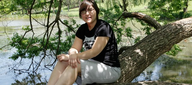 Jessica Roark, shown in this May 2009 file photo, died Aug. 22. She had battled adenoid cystic carcinoma, all the while striving to make the world around her a better place.