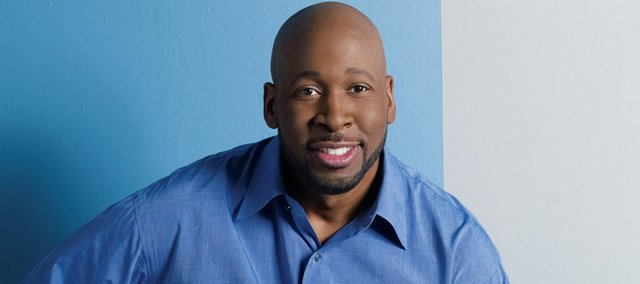 Wayman Tisdale poses for a publicity photo in this file shot from 2008. Tisdale, a three-time All-American at Oklahoma who played 12 seasons in the NBA, died Friday after a two-year battle with cancer.