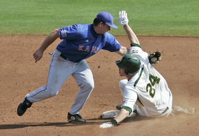 Kansas University shortstop David Narodowski was taken in the 15th round of the MLB Draft by the Arizona Diamondbacks.