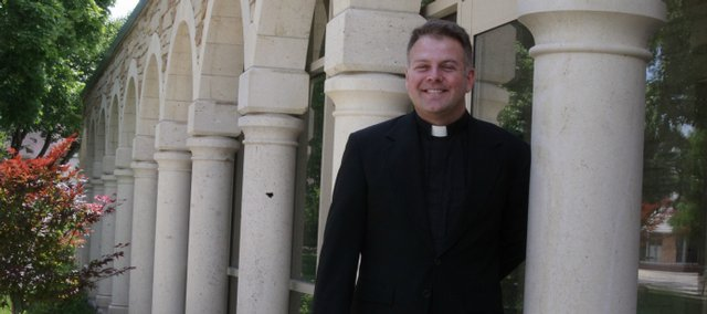 The Rev. Jonathon Jensen will be leaving the Trinity Episcopal Church, 1011 Vt., for Little Rock, Ark. Jensen stands by an addition which was one accomplishment of several in his seven years in Lawrence.