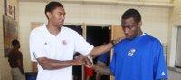 Taylor gives digits to KU basketball freshman