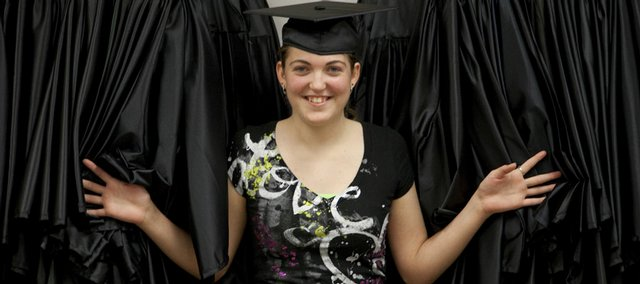 Sinead McClanahan will be among 85 people graduating from the Lawrence Adult Learning Center's General Educational Development program Thursday, June 18.