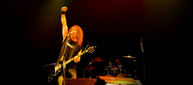 """Steve """"Lips"""" Kudlow rocks out live with his band in """"Anvil! The Story of Anvil."""""""